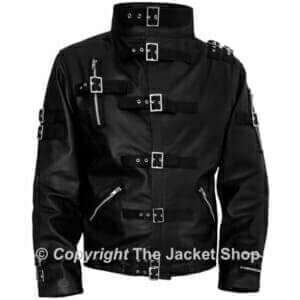Michael-Jackson-Real-Leather-BAD-Jacket