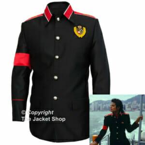 Michael Jackson CTE Military Jacket