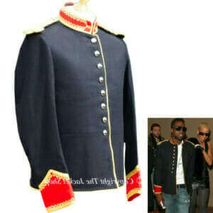 Kanye West Vintage Custom Military Jacket