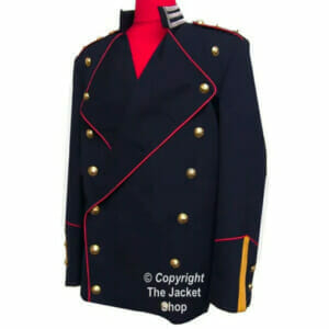 Michael Jackson Bucharest Jacket- Danish Royal Life Guards Jacket