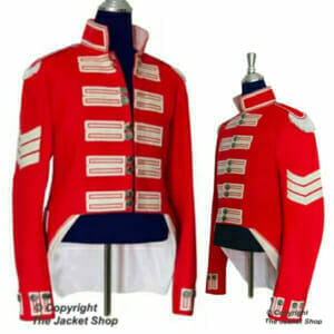 Richard Sharpe's Challenge Red 95th Rifles Military Jacket