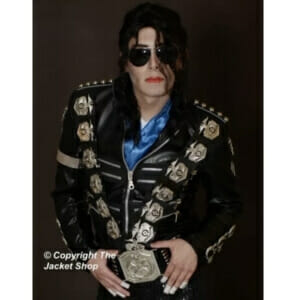 BAD Jacket Michael Jackson – Metal Police Badges