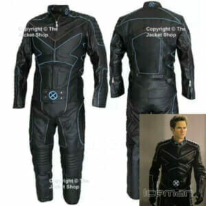 X-MEN 3 ICEMAN - Leather Motorcycle Suit, Outfit, Costume NEW!