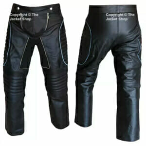 X-MEN 3 ICEMAN - Leather Motorcycle Trousers, Pants