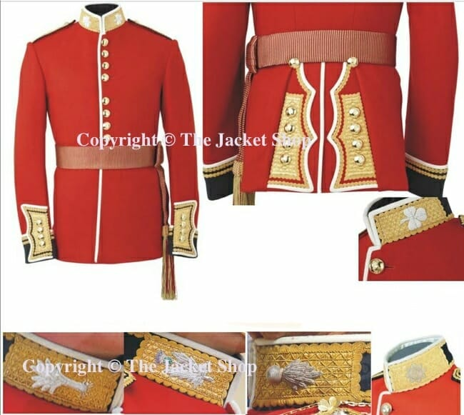 Coldstream Guards Officer's Tunic