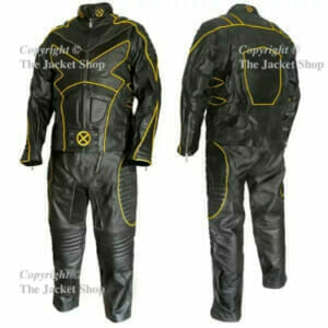 X-MEN 2 UNITED - WOLVERINE Leather Full Suit - Costume - Outfit
