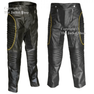 X-MEN 2 WOLVERINE - UNITED - Leather Motorcycle Trousers, Pants