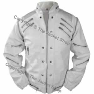 Michael-Jackson-Leather-White-Beat-It-Jacket-Metal-Shoulders