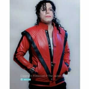 Michael Jackson Thriller Jacket in Real Leather