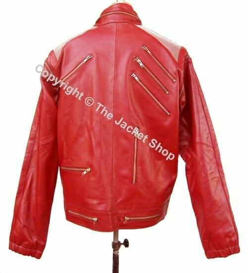 michael jackson clothing real leather mj beat it jacket buy