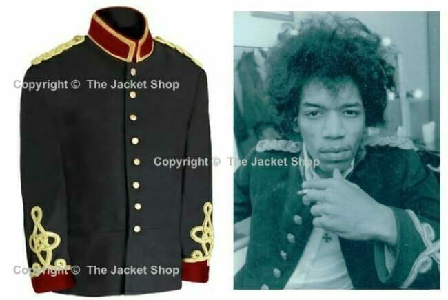 Jimi Hendrix Military Jacket