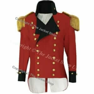 British Officer's Military Tailcoat
