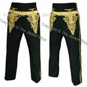 Hussars Embroidered Military Trousers