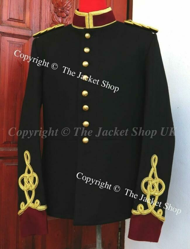 custom made Jimi Hendrix Military Jacket