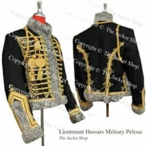 Lieutenant Hussars Military Pelisse