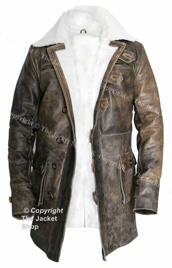 Dark Knight Rises Real Leather Jacket