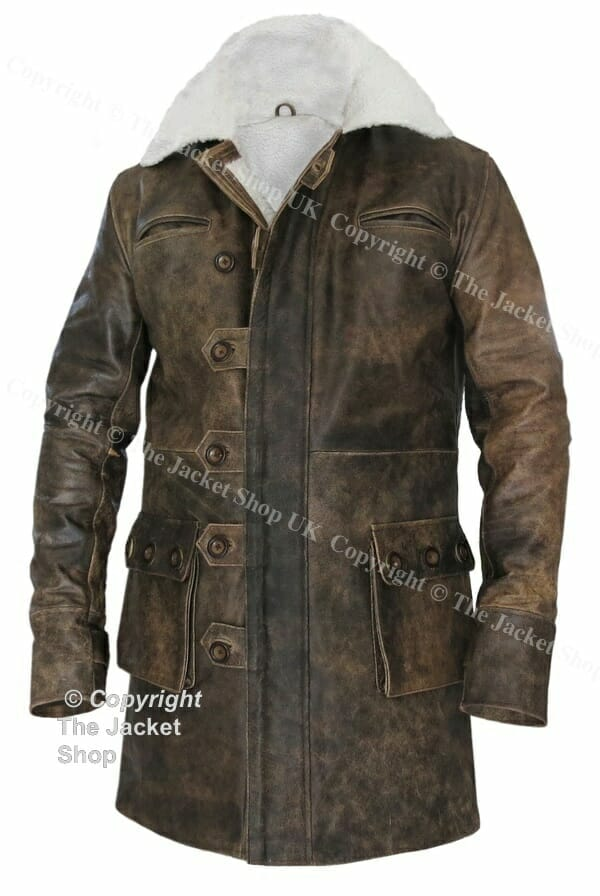 Buy Dark Knight Rises Real Leather Jacket