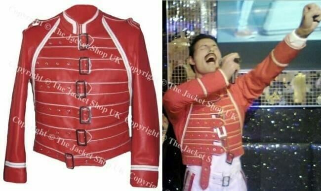Freddie Mercury Red Jacket
