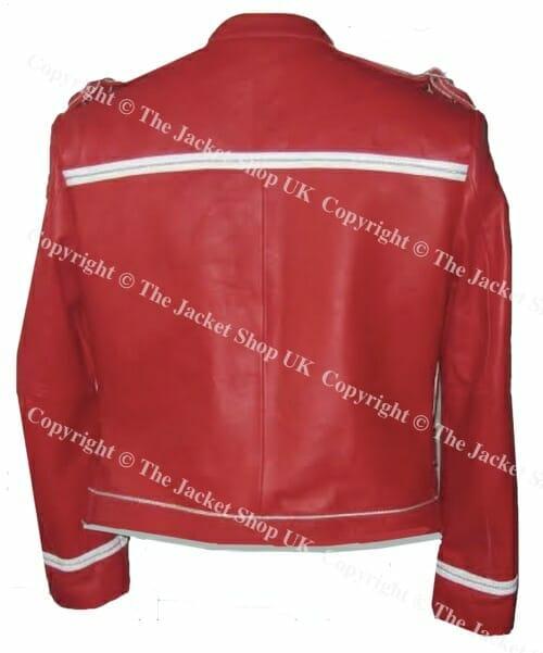 queen jacket rear view