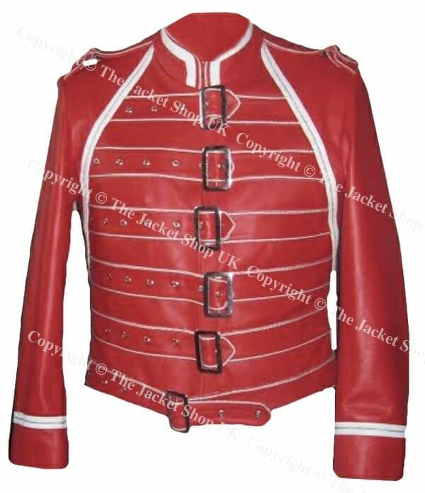 Freddie Mercury red stage jacket