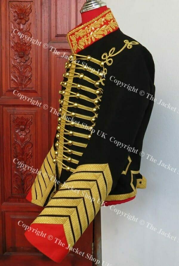 french%20revolution%20clothing/French Imperial Guard Chasseur aU0300 Cheval De La Garde Dolman Tunic.jpg