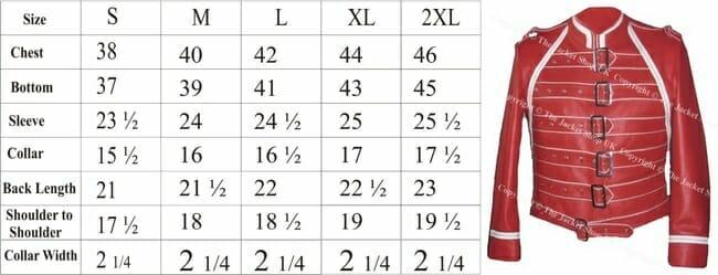 measurements chart queen clothing