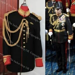 Princess Anne Cavalry Tunic - Blues & Royals Jacket