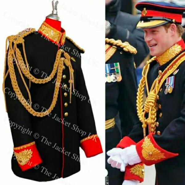 Prince Harry Cavalry Tunic