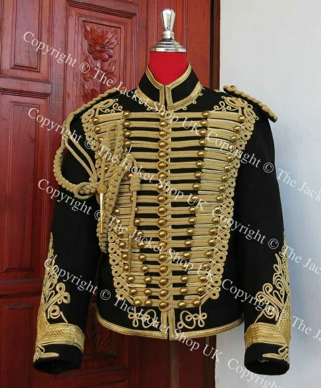 Hussars Jacket - Dolman Shoulder Boards Aiguillette