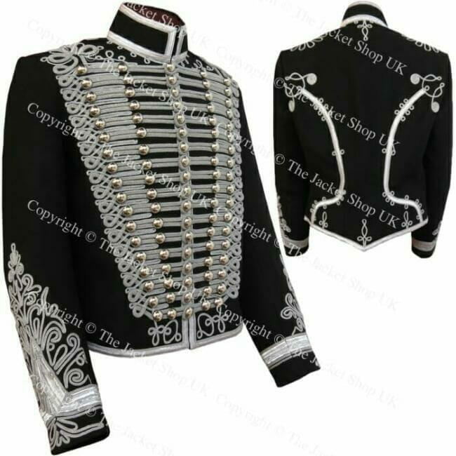 Silver Braid Hussars Jacket