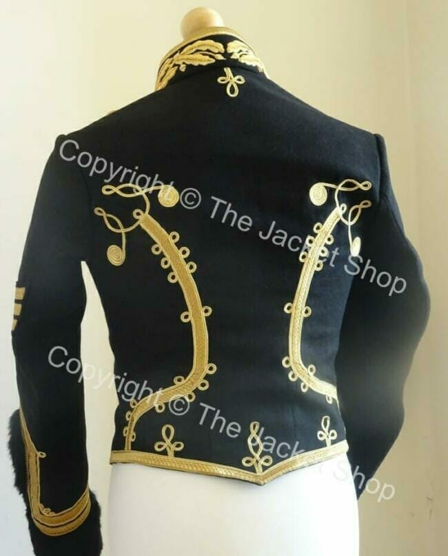 Hussars Dolman back view