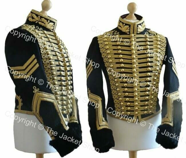 Hussars Dolman - With Gold Bullion Embroidery