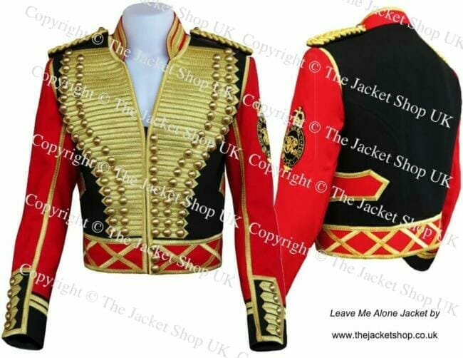 Leave me Alone Jacket - Michael Jackson Video Military Uniform