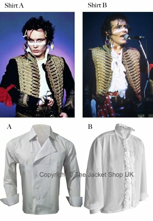 buy adam ant shirt