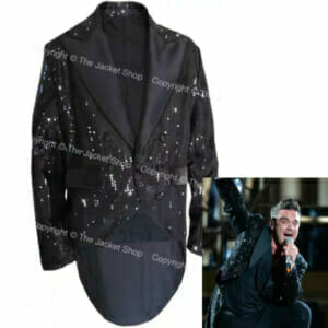 Robbie Williams Sequin Performance Jacket - Tailcoat - 2