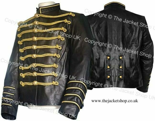 Jimi Hendrix Leather Jacket