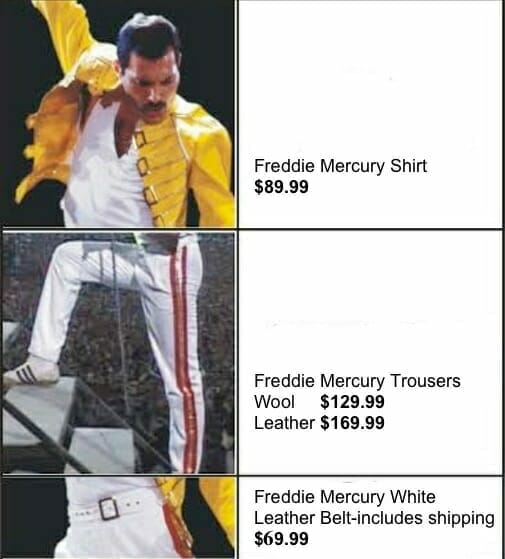 Freddie-Mercury-Queen-Yellow-Leather-Jacket-Costume/freddie%20mercury%20queen%20shirt%20trousers%20belt.jpg