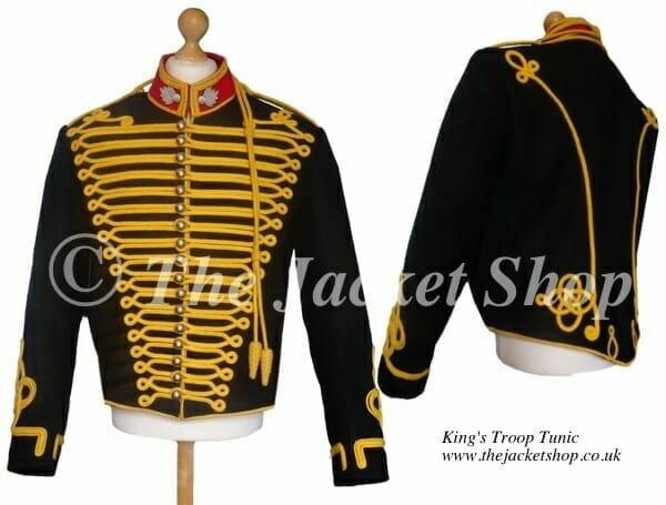 Kings Troop Officers Jacket - Royal Horse Artillery Tunic