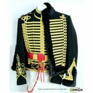 Hussars Tunic, Pelisse and Belt Set (in any colour design)
