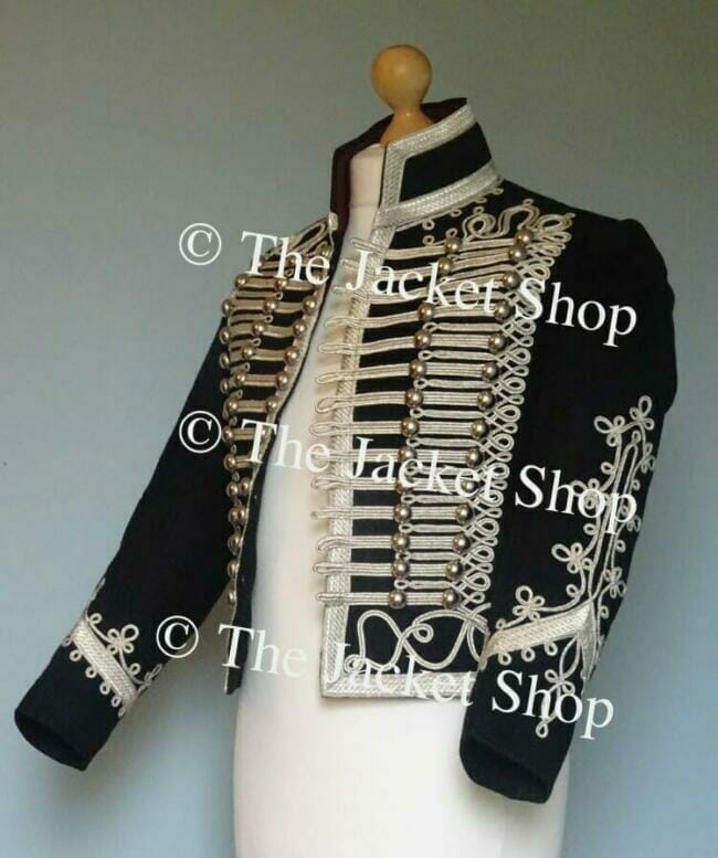 Adam Ant Style Jacket Side View