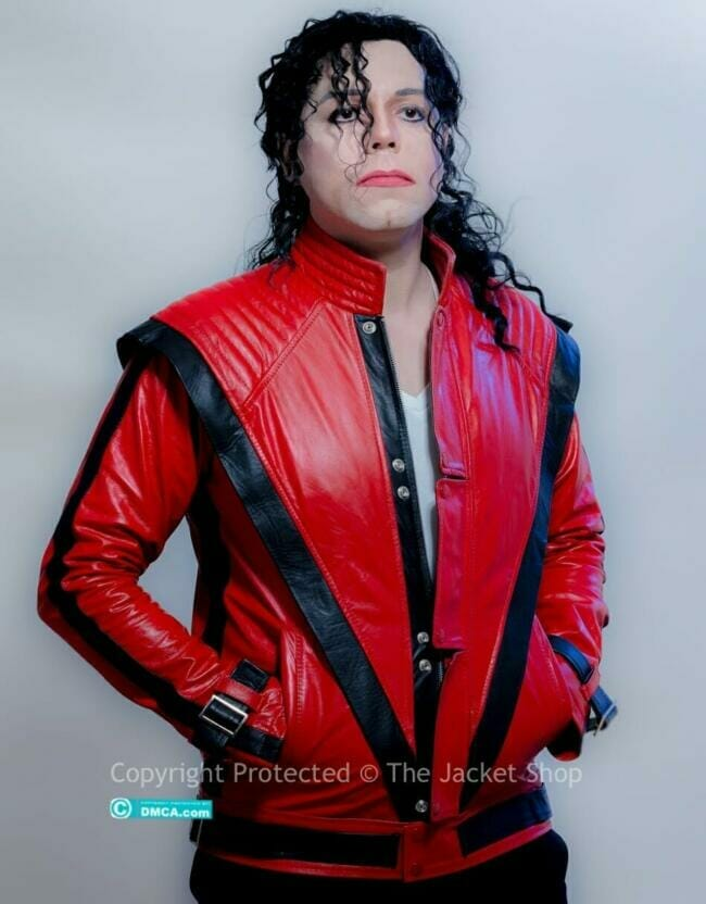 A big thank you to the Michael Jackson professional Impersonator Michael Rouven for modeling our MJ Thriller jacket