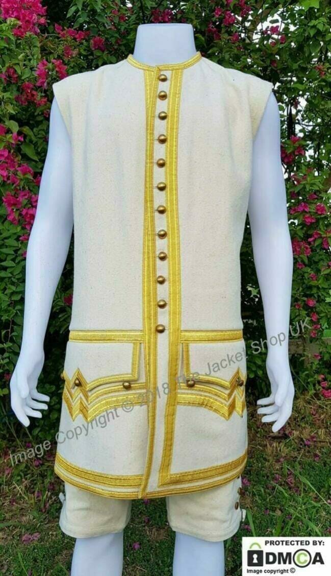 Royal Navy Post Captain waistcoat