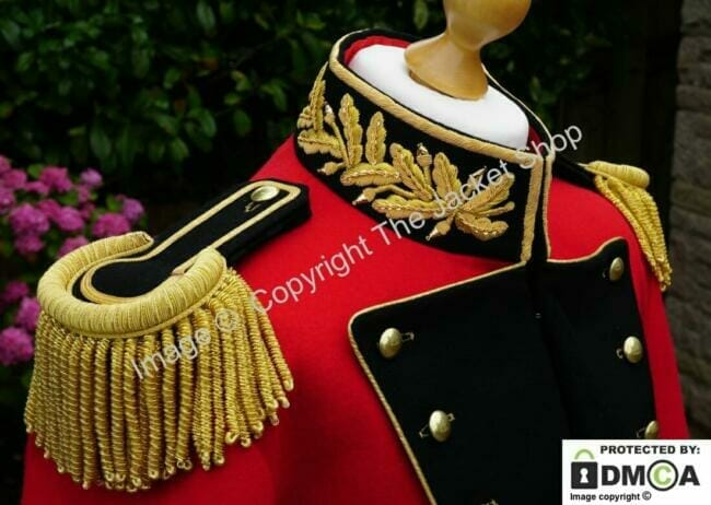 Gilt braid collar Prince Albert's Wedding Coat