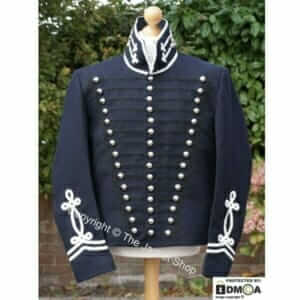 US-Dragoons-Trooper-Military-Jacket-Uniform-1812-1814