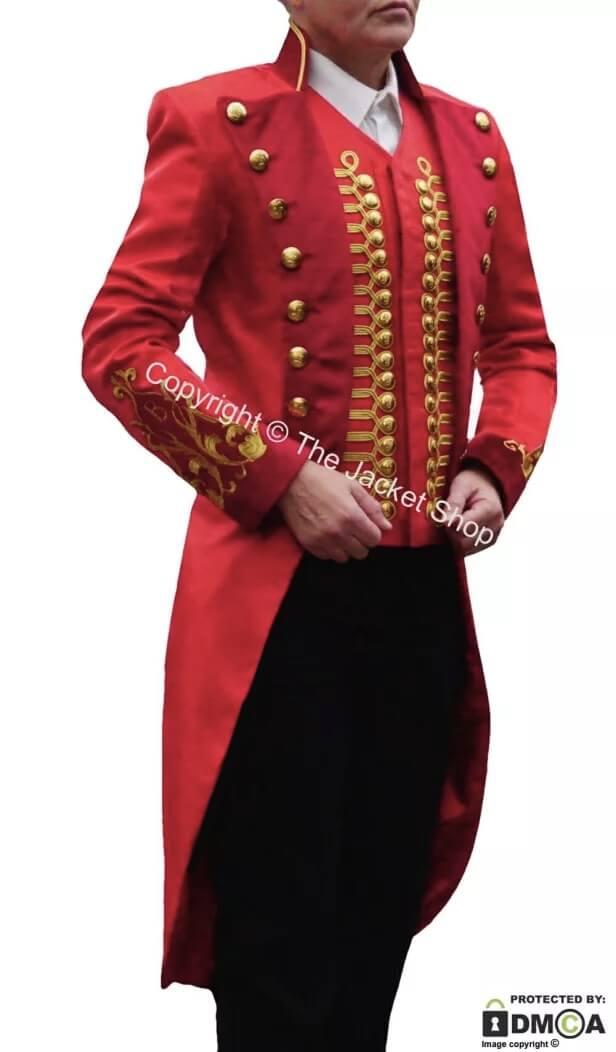 The Greatest Showman Uniform - Ringmasters Jacket and Waistcoat