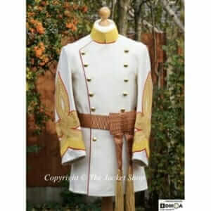 Japanese-Emperors-Taishō-Showa-Ceremonial-Uniform-In-White