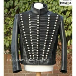 Leather-Adam-Ant-Jacket-Hussars-Tunic-Dolman