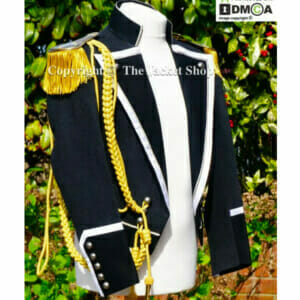 Freddie Mercury Queen 39th Birthday Black & White Ball Jacket