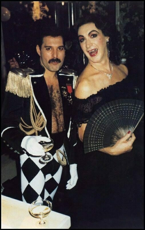 Queen 39th Birthday Black & White Ball