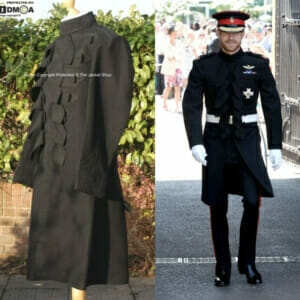 Undress Frock Coat - Prince Harry Blues and Royals Wedding Jacket